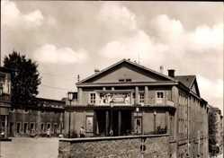 Postcard Riesa an der Elbe Sachsen, Blick auf das Filmtheater Capitol, Kino