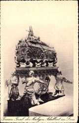 Ak Gniezno Gnesen Posen, Grab des Heiligen Adalbert im Dom, Grob
