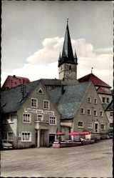 Postcard Wonsees Fränk. Schweiz, Gasthof zur Traube, Ludwig Schleicher