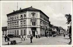 Postcard Zweibrücken in Rheinland Pfalz, Hotel Deutsches Haus, Franz von Epp Straße