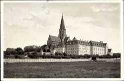 Postcard Eresing Landkreis Landsberg am Lech, Blick auf Erzabtei St. Ottilien