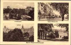 Ak Berlin Pankow Niederschönhausen, Friedensplatz, Kaiser Wilhelm Straße