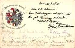 Studentika Ak Hannover, Hannovera sei's Panier,Corps Hannovera,Am Taubenfelde 34