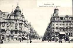Postcard Frankfurt am Main, Kaiserstraße vom Bahnhof gesehen
