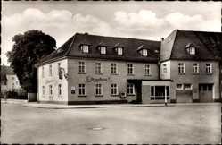 Postcard Langenau in Württemberg, Blick auf das Jägerhaus, Inhaber Buck