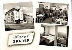 Postcard Neustadt an der Waldnaab im Oberpfälzer Wald, Hotel Grader