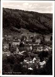 Postcard Hirsau Calw im Nordschwarzwald, Blick auf Kloster und Stadtteil, Turm