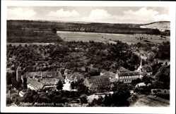 Postcard Maulbronn im Enzkreis Baden Württemberg, Fligeraufnahme des Klosters