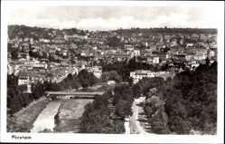 Postcard Pforzheim im Schwarzwald Baden Württemberg, Blick auf die Stadt