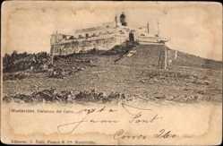Postcard Montevideo Uruguay, Fortaleza del Cerro, Festung auf einem Berg