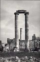 Postcard Didyma Griechenland, Blick auf den Apollotempel, Ruinen, Säulen