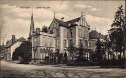Postcard Diekirch Luxemburg, Hôtel de Ville, Ansicht vom Rathaus