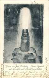 Postcard Bad Nauheim im Wetteraukreis Hessen, Neuer Sprudel, 7. März 1900