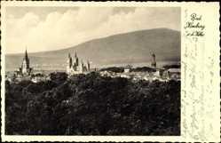 Postcard Bad Homburg vor der Höhe im Hochtaunuskreis, Panorama mit Kirchen