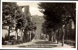 Postcard Bad Dürkheim am Pfälzerwald, Klosterruine Limburg, Langhaus gegen Osten