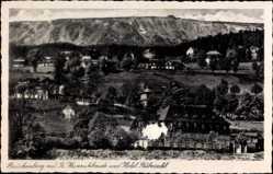Ak Brückenberg b. Krummhübel Schlesien, Prinz Heinrichbaude, Hotel Rübezahl
