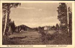 Ak Karpacz Krummhübel Riesengebirge Schlesien, Erholungsheim Waldfrieden