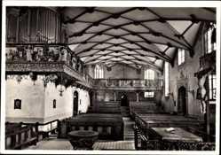 Postcard Freudenstadt im Nordschwarzwald, Evangel. Stadtkirche, Orgel