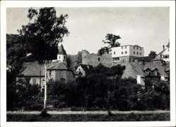 Postcard Pforzheim Dillweißenstein im Schwarzwald, Jugendherberge Burg Rabeneck