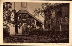 Postcard Eberbach im Rhein Neckar Kreis, Kloster, Blick in den Kreuzgarten