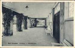 Postcard Bad Hersfeld in Hessen, Blick in die Wandelhalle im Kurhaus