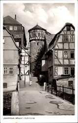 Postcard Lauterbach an der Lauter Vogelsbergkreis, Blick auf den Ankerturm