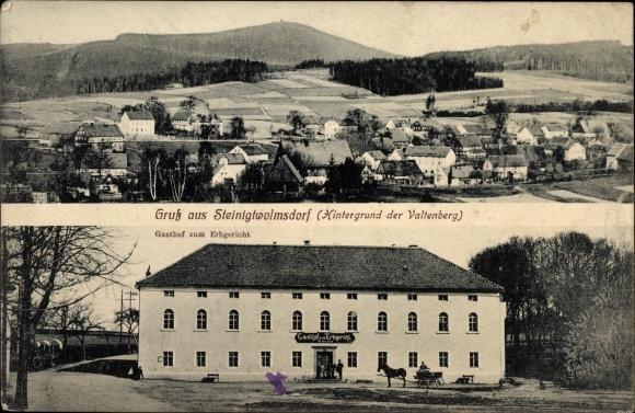 Ansichtskarte postkarte steinigtwolmsdorf in sachsen for Steinigtwolmsdorf bad
