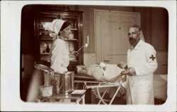 Arzt datiert Krankenschwester