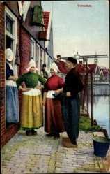 Ak Photochromie, Volendamer Tracht, Nenke u. Ostermaier 116 2277