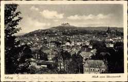 Postcard Coburg in Oberfranken, Blick vom Wasserwerk auf die Stadt