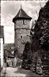 Postcard Gengenbach an der Kinzig Ortenaukreis, Am Schwedenturm