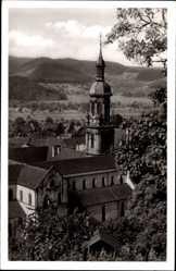Postcard Gengenbach an der Kinzig Ortenaukreis, Ansicht der Stadtkirche