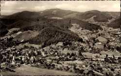 Postcard Gutach an der Badischen Schwarzwaldbahn, Blick vom Moserstein