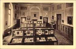 Postcard Marbach am Neckar, Blick in den Schiller Saal im Schillermuseum