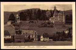 Postcard Neustadt an der Weinstraße, Das Haardter Schlösschen mit Umgebung