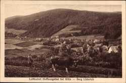 Postcard Hoffnungsthal Rösrath in Nordrhein Westfalen, Berg Lüderich, Bauer mit Kuh