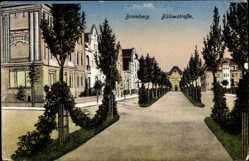 Ak Bydgoszcz Bromberg Westpreußen, Bülowstraße, Junge Bäume