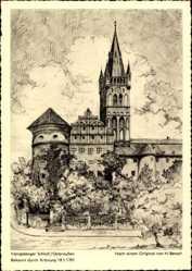 Künstler Ak Bensch, H., Kaliningrad Königsberg Ostpreußen, Schloss