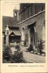 Ak Malbork Marienburg Westpreußen, Eingang zur Hochmeistergruft St. Annen