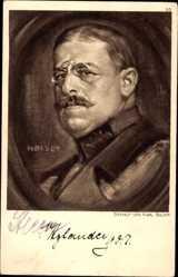 Künstler Ak Bauer, Karl, Oskar von Xylander, Bayrischer General der Infanterie