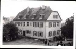 Foto Ak Laubach in Hessen, Paul Gerhardt Alumnat, Vorderansicht