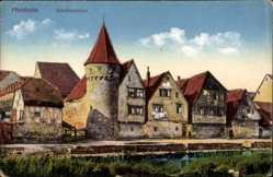 Postcard Pforzheim im Schwarzwald Baden Württemberg, Ansicht des Schelmenturm