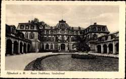 Postcard Offenbach am Main Hessen, Neues Stadthaus, Vorderansicht