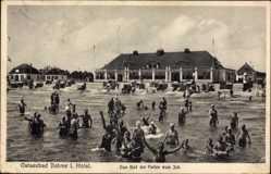 Ak Dahme in Holstein, Das Bad der Ferien vom Ich, Strandkörbe, Badende