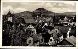 Postcard Reutlingen in Baden Württemberg, Blick auf den Ort mit Achalm