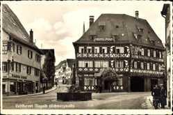 Postcard Nagold im Kreis Calw Schwarzwald Baden Württemberg, Hotel Post