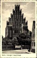 Ak Chełmno Kulm Weichsel Westpreußen, Evangelische Kirche