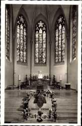 Postcard Dortmund im Ruhrgebiet, Franziskanerkirche, Chor mit Grab von Jordan Mai