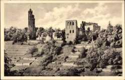 Postcard Bad Dürkheim am Pfälzerwald, Blick auf die Klosterruine Limburg
