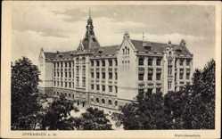 Postcard Offenbach am Main Hessen, Ansicht der Mathildenschule